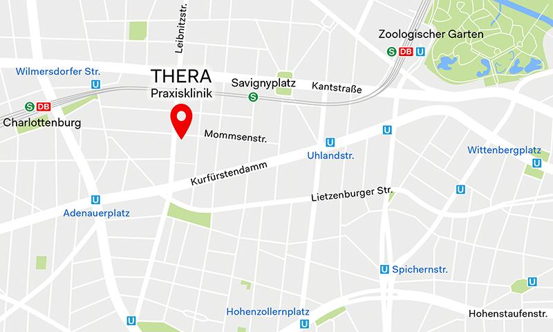 THERA Praxisklinik, Mommsenstr. 57, 10629 Berlin